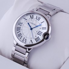 Ballon Bleu de Cartier Medium Quarz uhr W69011Z4 Replik Edelstahl