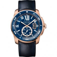 Calibre de Cartier Diver Blue