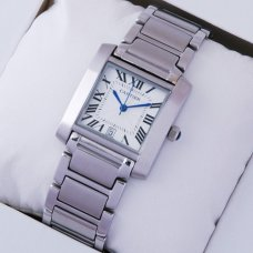 Cartier Tank Francaise W51002Q3 steel replica watch for men