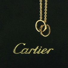 Cartier Love yellow gold chain necklace replica B7212400