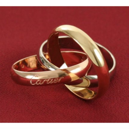 Trinity de Cartier 3-gold ring replica B4052700