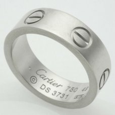 Cartier Love replica ring B4084700 in white gold
