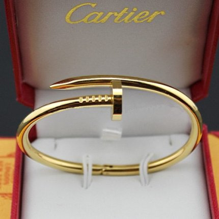 Cartier Juste un Clou bracelet imitation B6037815 yellow gold