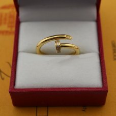 Imitation Cartier Juste un Clou diamond ring in yellow gold