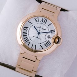 Ballon Bleu de Cartier W69006Z2 large automatic watch replica 18K pink gold
