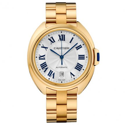 Clé de Cartier 40mm 18K yellow gold replica watch for men WGCL0003