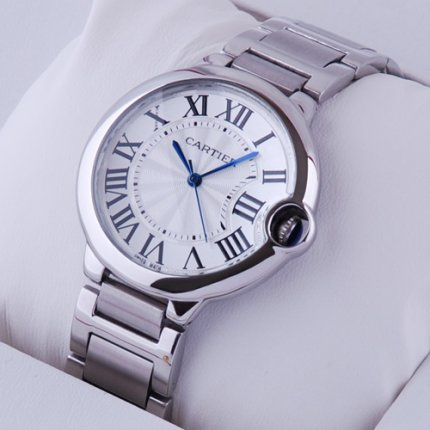 Ballon Bleu de Cartier medium quartz watch W69011Z4 replica stainless steel