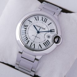 Ballon Bleu de Cartier W69012Z4 large automatic watch replica stainless steel