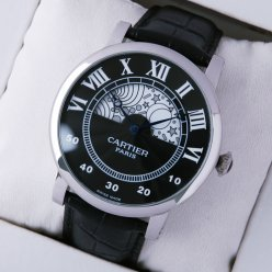 Rotonde de Cartier day-night collection privee stainless steel imitation watch for men