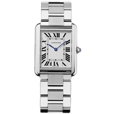 Cartier Tank Solo large mens watch replica W5200014 stainless steel
