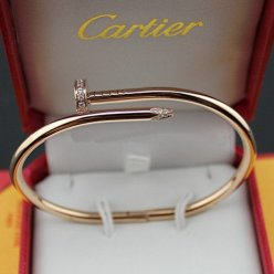 Cartier Juste un Clou Bracelet de diamants imitation B6039015 or rose