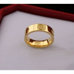 Cartier Love replique bague en or jaune B4084600
