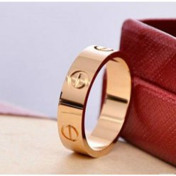 Cartier Love bague imitation B4084800 en or rose
