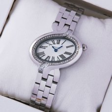 Delices de Cartier diamond watch for women 18K white gold WG800004